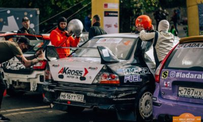 Rally Battle. Ралли Абрау-Дюрсо. Mitsubishi lancer evo