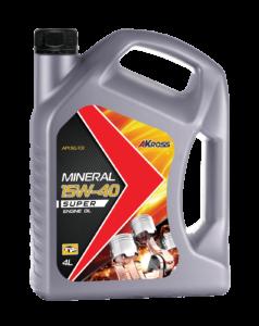 Минеральное моторное масло SAE 15W-40 API SG/CD