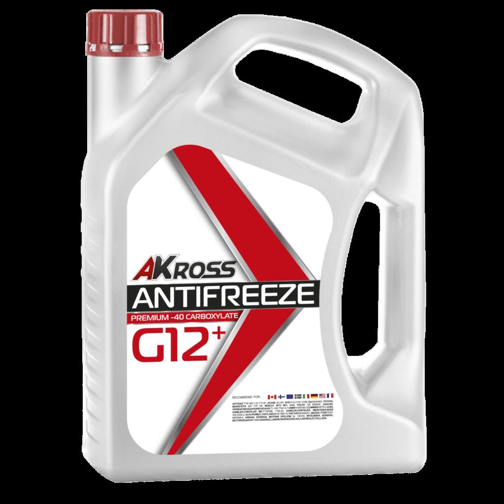 Карбоксилатный антифриз AKross Premium G12+