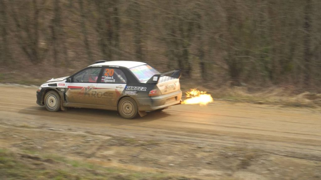 1 этап Rally Battle 2021. Mitsubishi Lancer Evolution. Александр Титков/Михаил Прокопюк